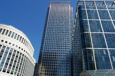 Free Skyscrapers In Canary Wharf Royalty Free Stock Images - 5627429