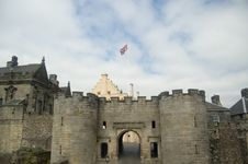 Free The Gates Of Stirling Castle Royalty Free Stock Photos - 5627628