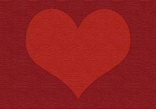 Free Velvet Heart Stock Images - 5628584