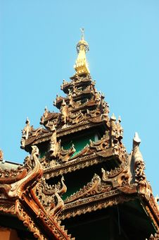Free Temple Eaves Royalty Free Stock Images - 5629349