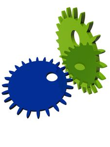 Free Gears Royalty Free Stock Image - 5629576