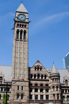 Free Toronto Old City Hall Royalty Free Stock Image - 5629886