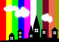 Free Colorful City Stock Photos - 5630643