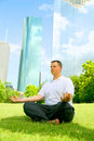Free Downtown Meditate Stock Photography - 5632322