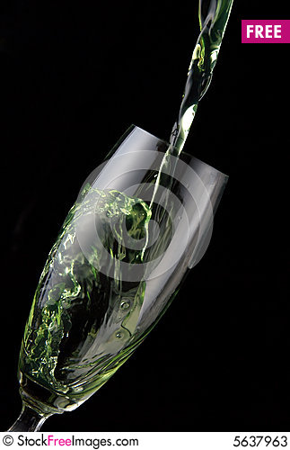Free Glass Of Drink Poured Stock Photos - 5637963