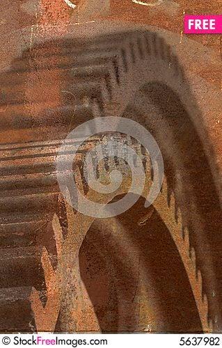 Free Rusty Gears Stock Photography - 5637982