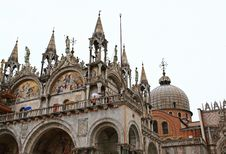 Free The San Marco Plaza Venice Royalty Free Stock Images - 5630219