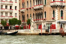 Free The Grand Canal In Venice Stock Image - 5630311