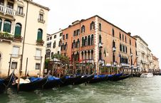 Free The Grand Canal In Venice Royalty Free Stock Photography - 5630317
