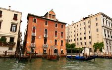 Free The Grand Canal In Venice Royalty Free Stock Photos - 5630318