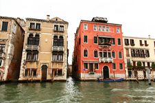 Free The Grand Canal In Venice Stock Image - 5630321