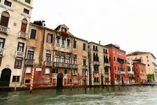Free The Grand Canal In Venice Stock Photography - 5630322