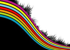 Free Rainbow Grungy Background Stock Photos - 5630333