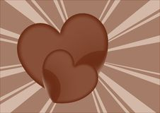 Free Chocolate Hearts Royalty Free Stock Photo - 5630575