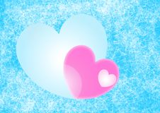 Free Hearts Background Royalty Free Stock Images - 5630599