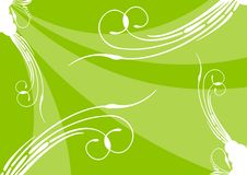Free Green Floral Background Stock Image - 5630691