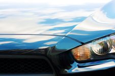 Free Closeup Of Car Headlight Stock Image - 5630741