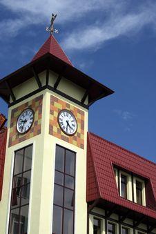 Free Clock Tower Royalty Free Stock Image - 5630776