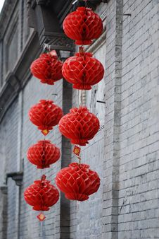 Free Red Lanterns Stock Images - 5630944
