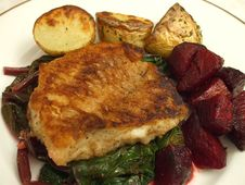 Free Pan Seared Tautog Stock Photography - 5630952