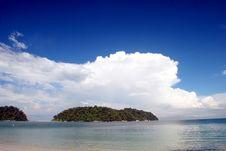 Free Beach Scenery Stock Image - 5630961