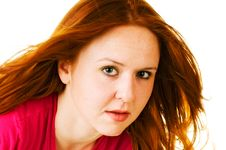 Free Red Haired Beauty Stock Image - 5631061