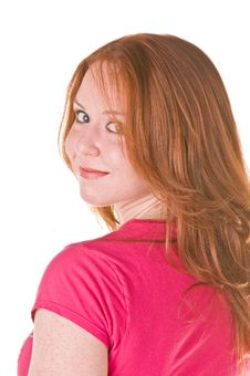 Free Red Haired Beauty Stock Photography - 5631072