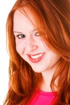 Free Red Haired Beauty Stock Image - 5631181