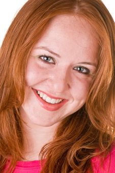 Free Red Haired Beauty Stock Photography - 5631202