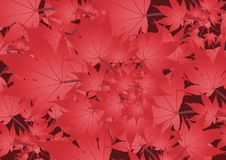 Free Red Leaves Background Royalty Free Stock Photography - 5631327