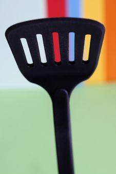 Free Black Spoon Royalty Free Stock Photography - 5631367