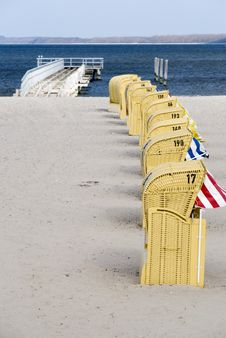 Free Beach Baskets Stock Photography - 5631512