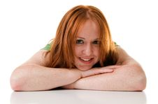 Free Red Haired Beauty Royalty Free Stock Photos - 5631668