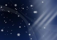 Free Snowflakes Night Vision Stock Photo - 5631680