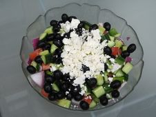 Free Greek Salad Royalty Free Stock Images - 5631689