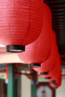 Free Chinese Red Lantern. Royalty Free Stock Images - 5631979