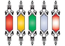 5set Classical Banner - Vector Stock Photography