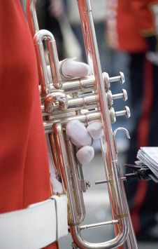 Free Trumpet Royalty Free Stock Photos - 5632508