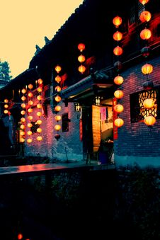 Free Chinese Architecture 4 Stock Photos - 5632513