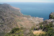 Free View From Table Mountain Royalty Free Stock Image - 5633146