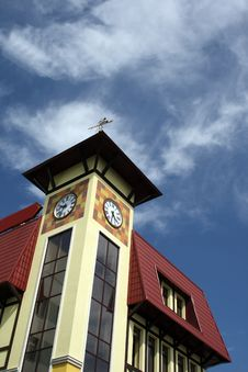 Free Clock Tower Stock Photography - 5633262