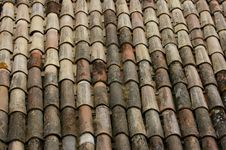 Free Roof Tiles Royalty Free Stock Photography - 5633367