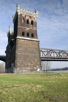 Free Rhine Bridge Detail Stock Photo - 5633380