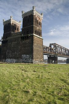 Free Rhine Bridge Detail Stock Image - 5633411