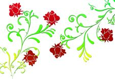 Free Fractal Flowers Stock Photography - 5634162