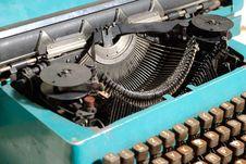 Heart Of Typewriter Stock Photos