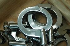 Free Handcuffs Royalty Free Stock Photography - 5634857