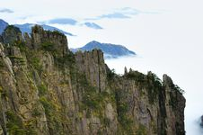 Chinese Mt. Huangshan Stock Image