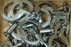 Free Handcuffs Royalty Free Stock Photo - 5635055