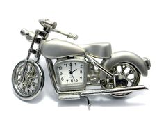 Desktop Hours - A Motorcycle Royalty Free Stock Photography